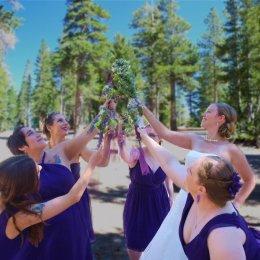 bride and brides maids 0068