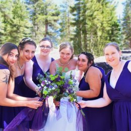bride and brides maids 0070