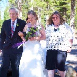bride and parents 0127