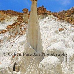 White Hoodoos in Utah