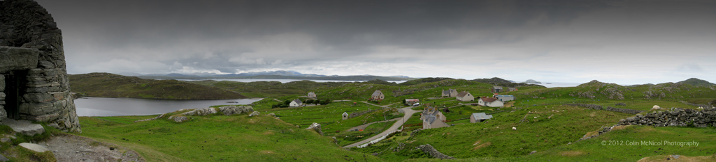 Panorama from Dun Carloway Broch
