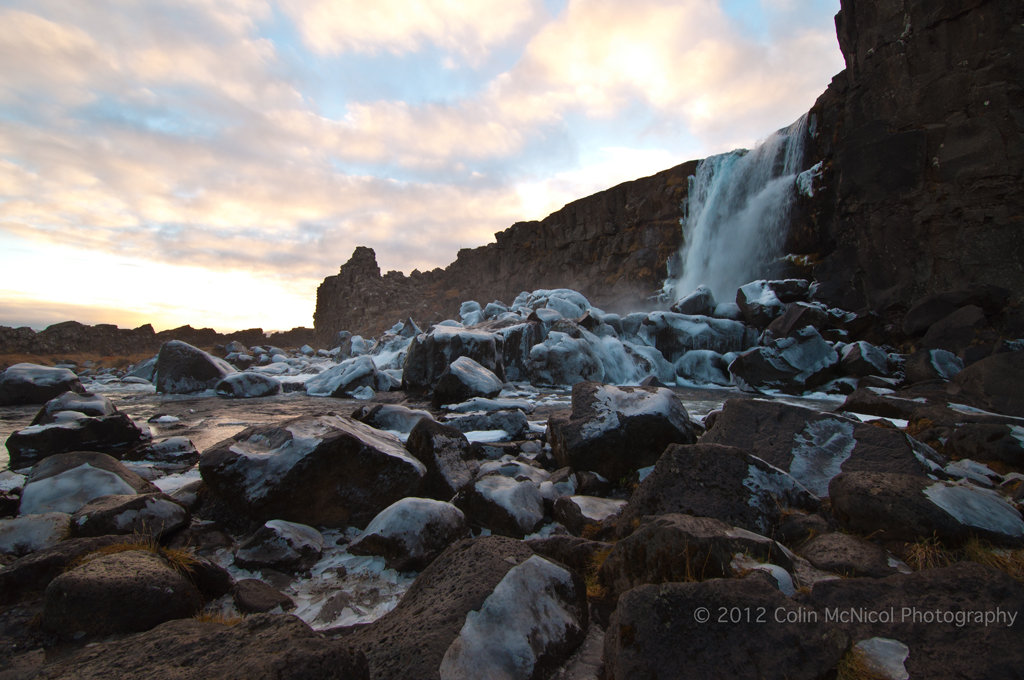 Oxararfoss, Thinvellir, Iceland