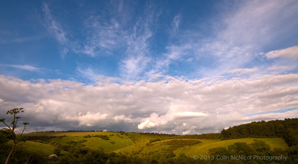 Above the Wolds, East Yorkshire