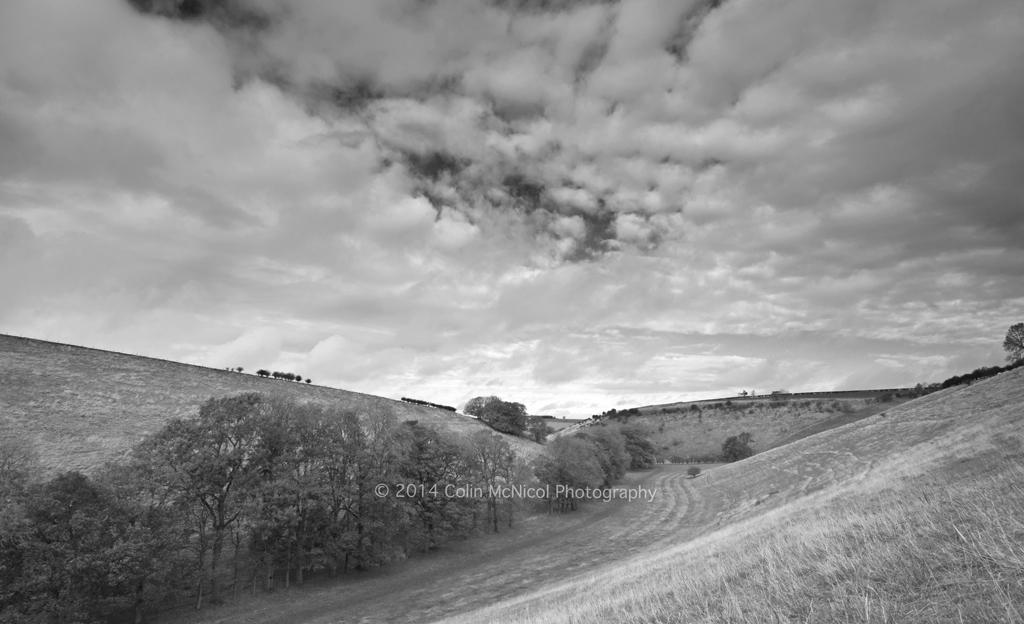 Break in the Clouds (B&W), Thixen Dale