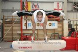 Louis Smith in training for 2012 Olympics