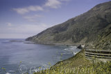 A view of the Big Sur, Highway 1, heading towards Monterey.