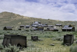 Bodie, a ghost gold mining town, deserted since 1940.