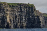 A section of The Cliffs of Moher
