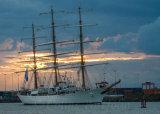 "Argentinian Navy training sailing frigate ""Ara Libertad"""