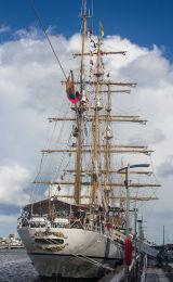 Ecuadorian Navy sail training ship 'Guayas', built 1978