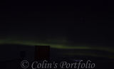 The Northern Lights starting to fade