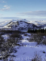 A view over part of the Pingvellir National Park
