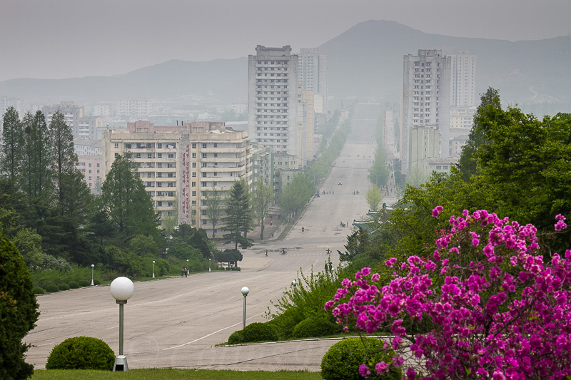 The hazy centre of Kaesong
