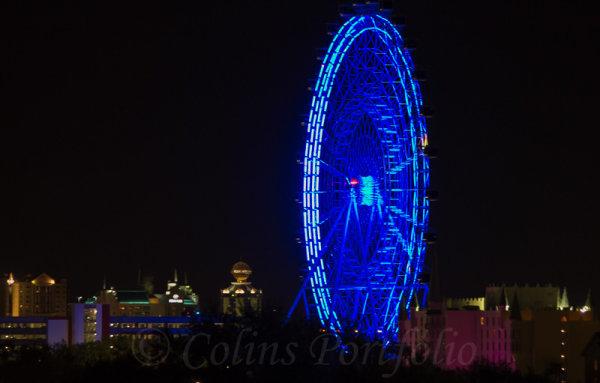 The Orlando Eye at night