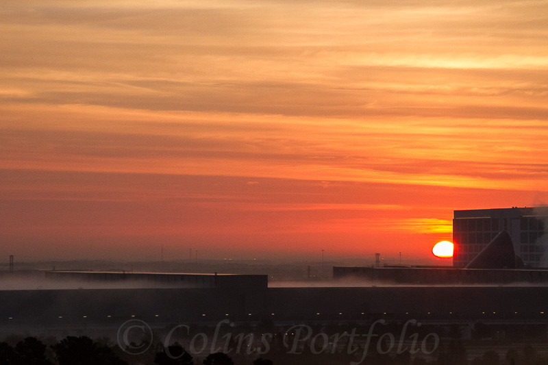 Sunrise over Orlando
