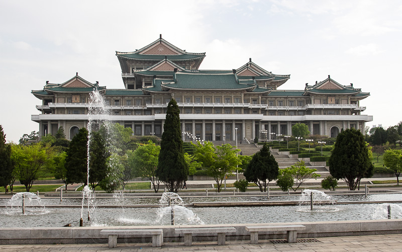 The Grand People's Study House, close to Kim Il Sung square