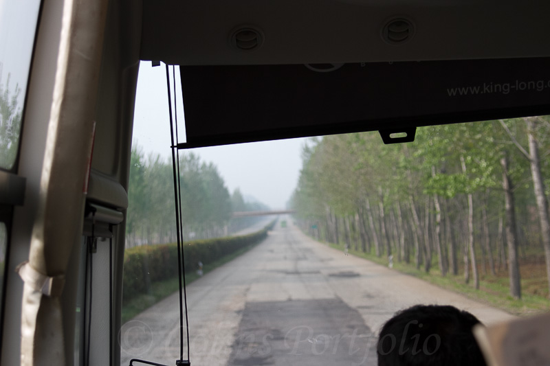 Example of the roads and lack of traffic.