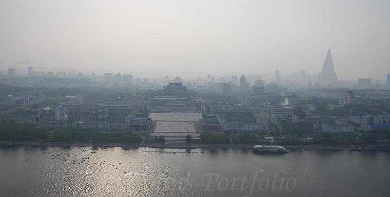 Panoramic view of Pyongyang City