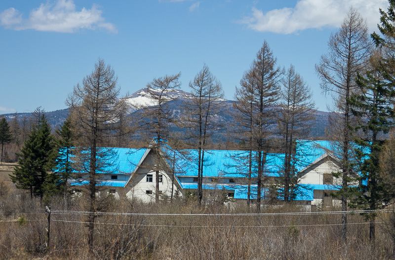 A wooded ski resort in the north of the country