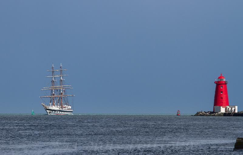 Sail training vessel 'Stavros S Niarchos'