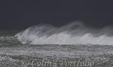 An angry sea in the midst of Storm Dennis