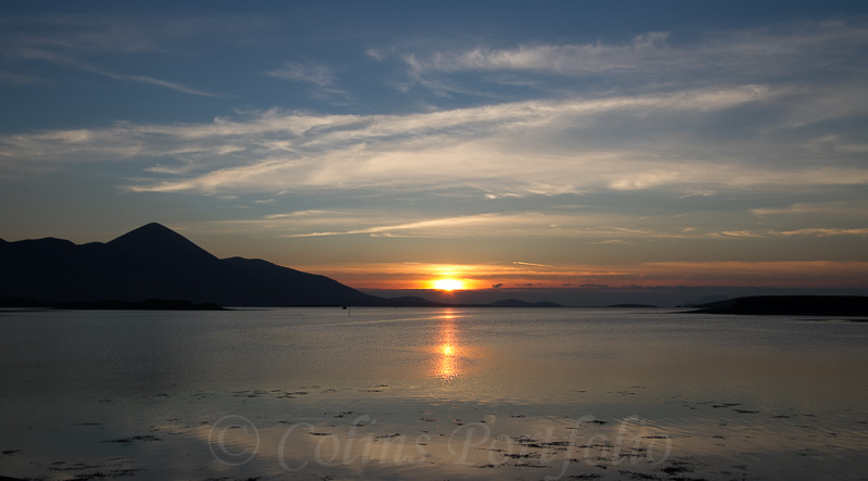 Sunset over Clew Bay, Co. Mayo