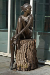 'Sophie' by the late Judith Holmes Drewry