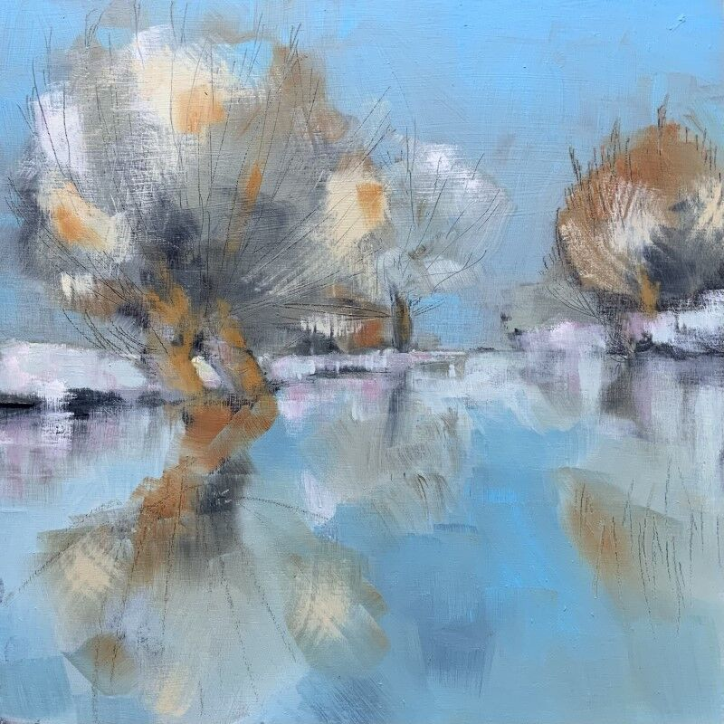 A Suffolk Winter on the Stour