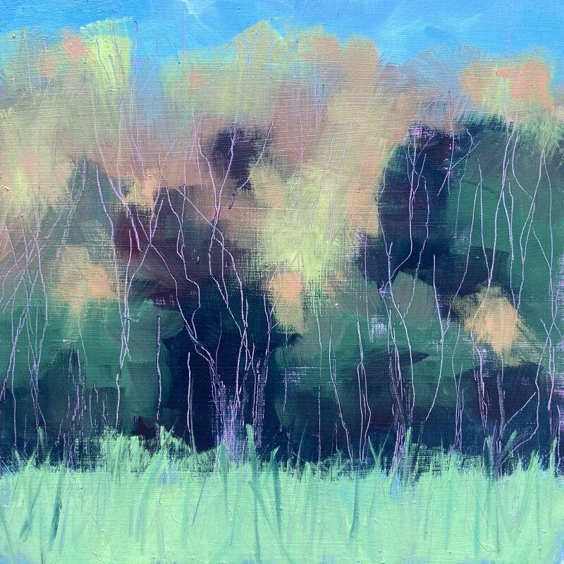 Autumn Tree Abstract Study