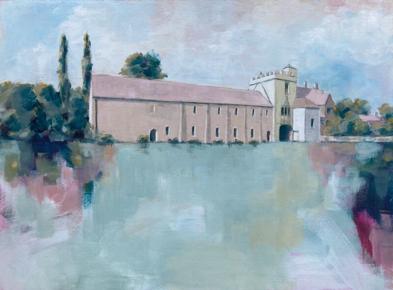 Cawood Castle in the Pink