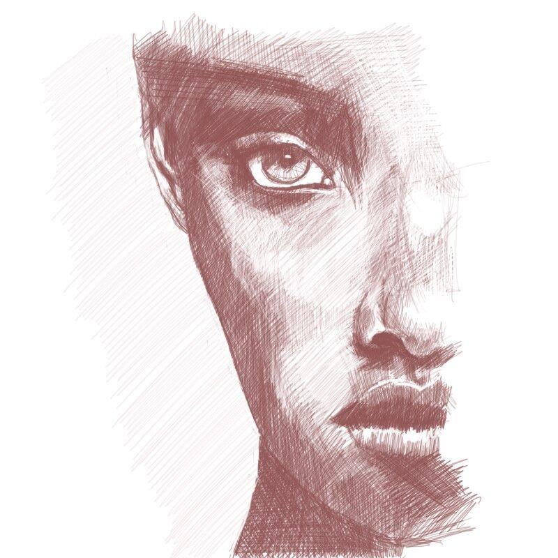 Digital Portraiture Study IX