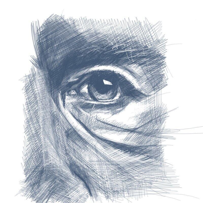 Digital Portraiture Study VI