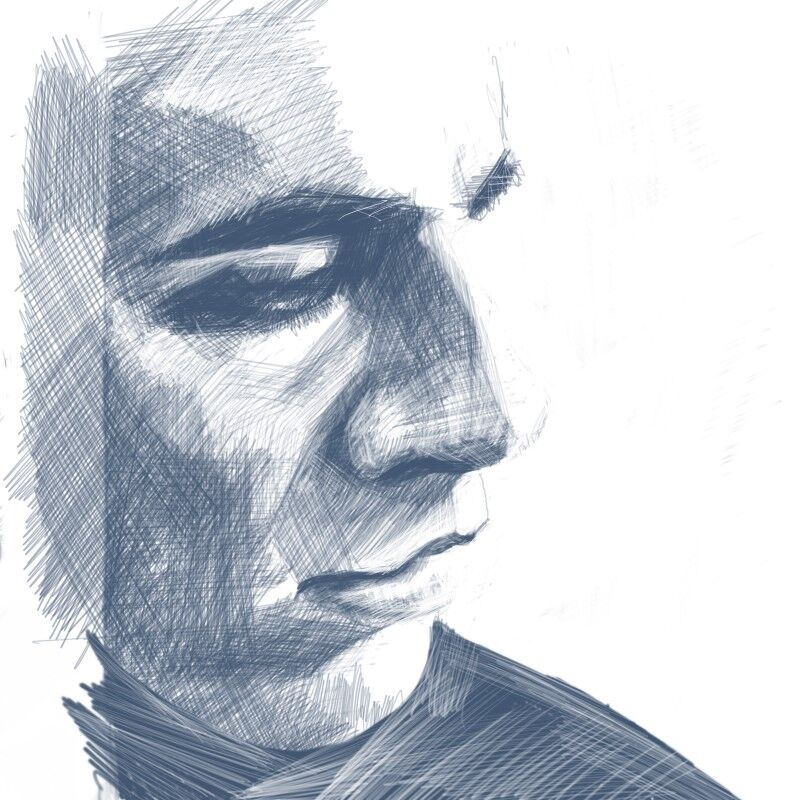Digital Portraiture Study VII