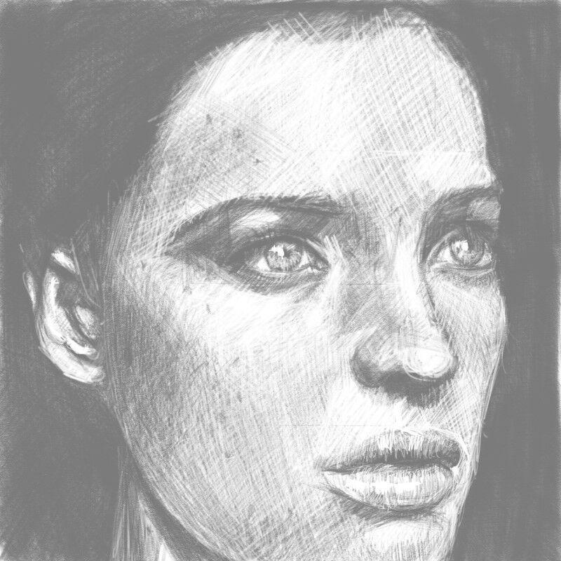 Digital Portraiture Study XVI