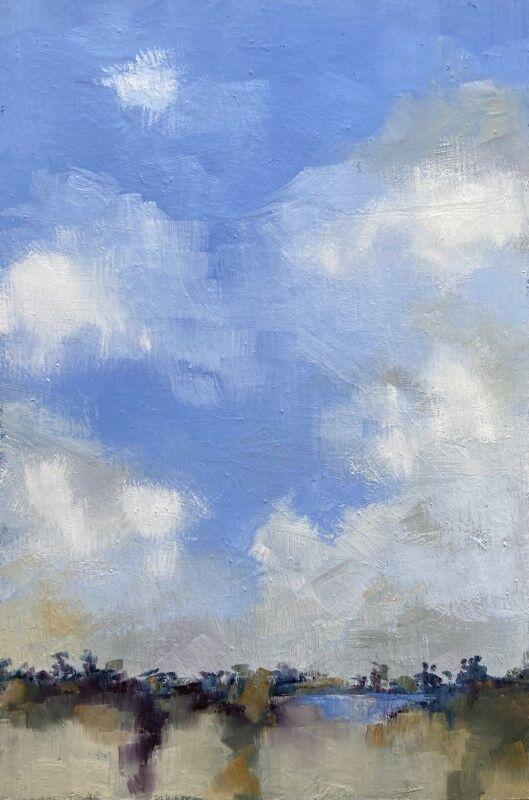 Tall Norfolk Skies near Overy