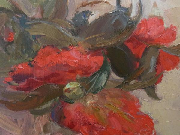 Red camillias
