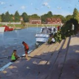 Rowers at Weybridge.NFS