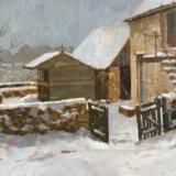 Snow at Barton. NFS