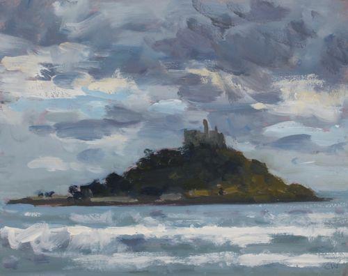'St Michael's Mount' Oil 20x25cm