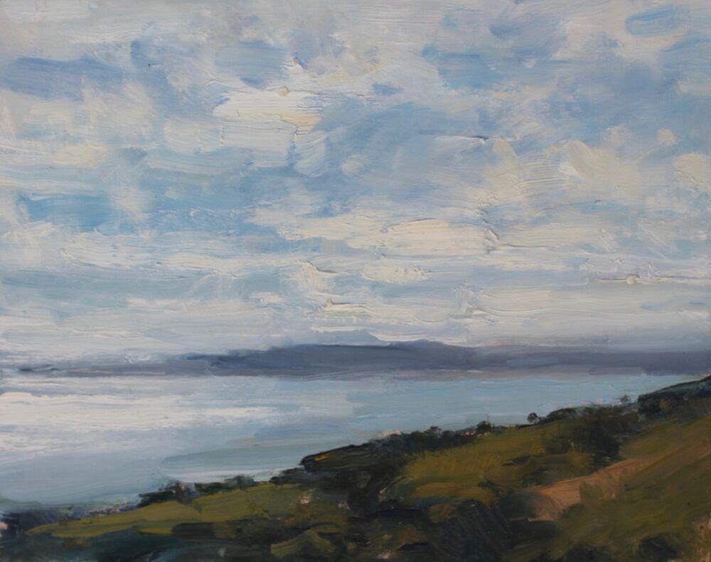 'Light on Weymouth Bay'    Oil     20x25cm