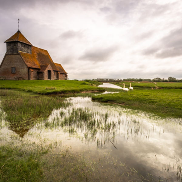 Church on Romney Marsh