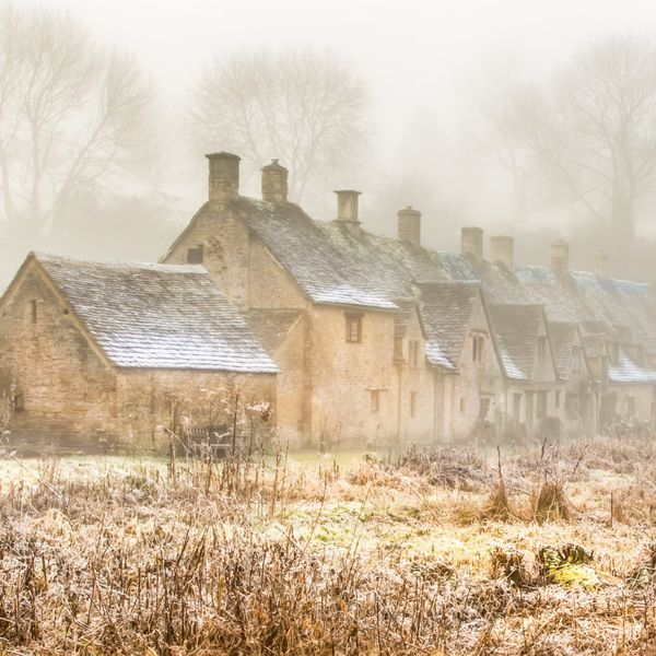Arlington Row in Winter Bibury