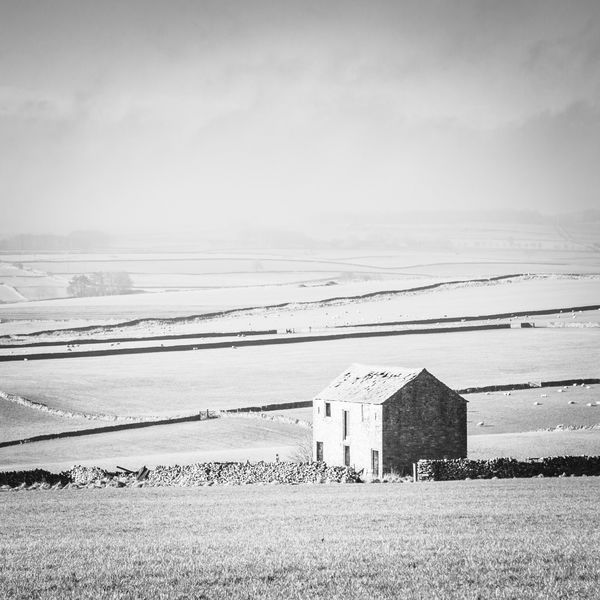 Peak District Winter's Isolation