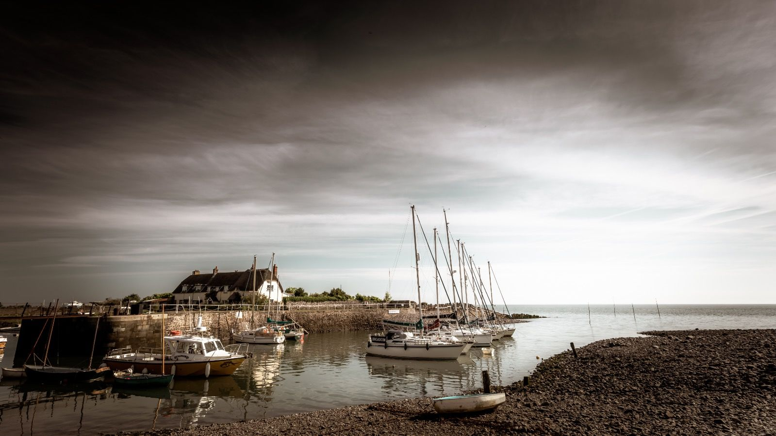 The Old Harbour at Dawn