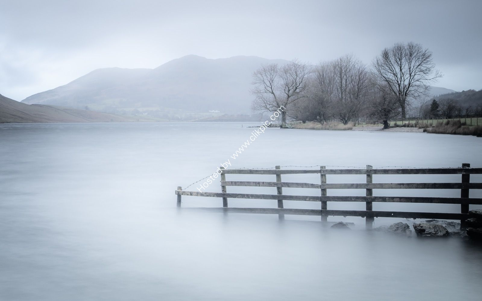 Misty Morning Crummock Water