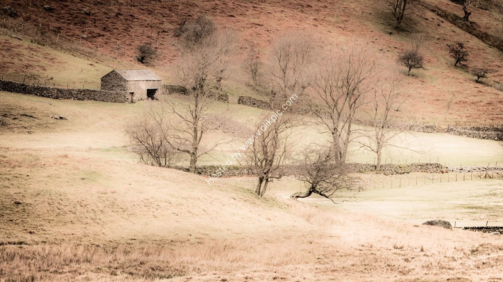 isolated Barn Kirkstone Pass