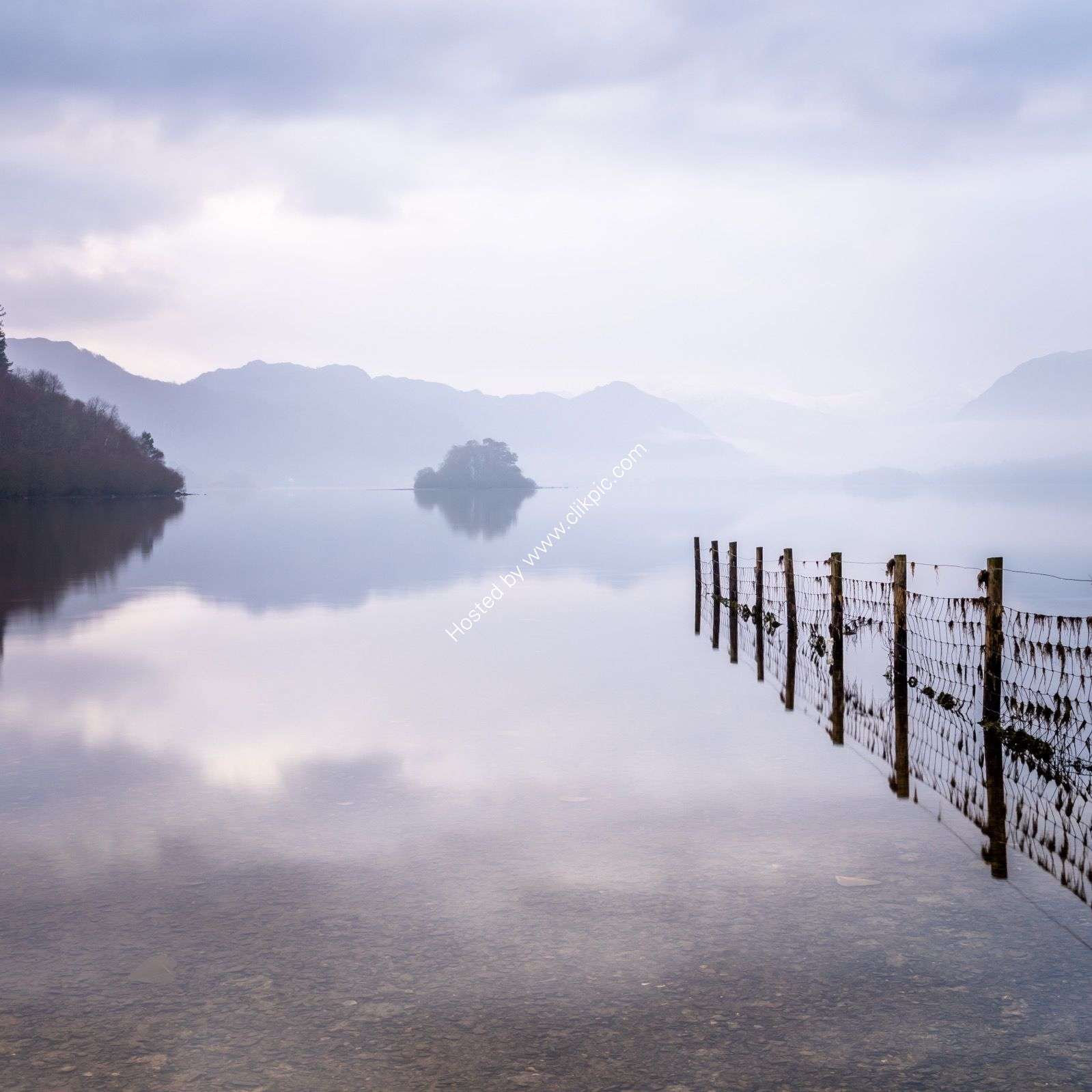 Soft morning Light over Derwent Water