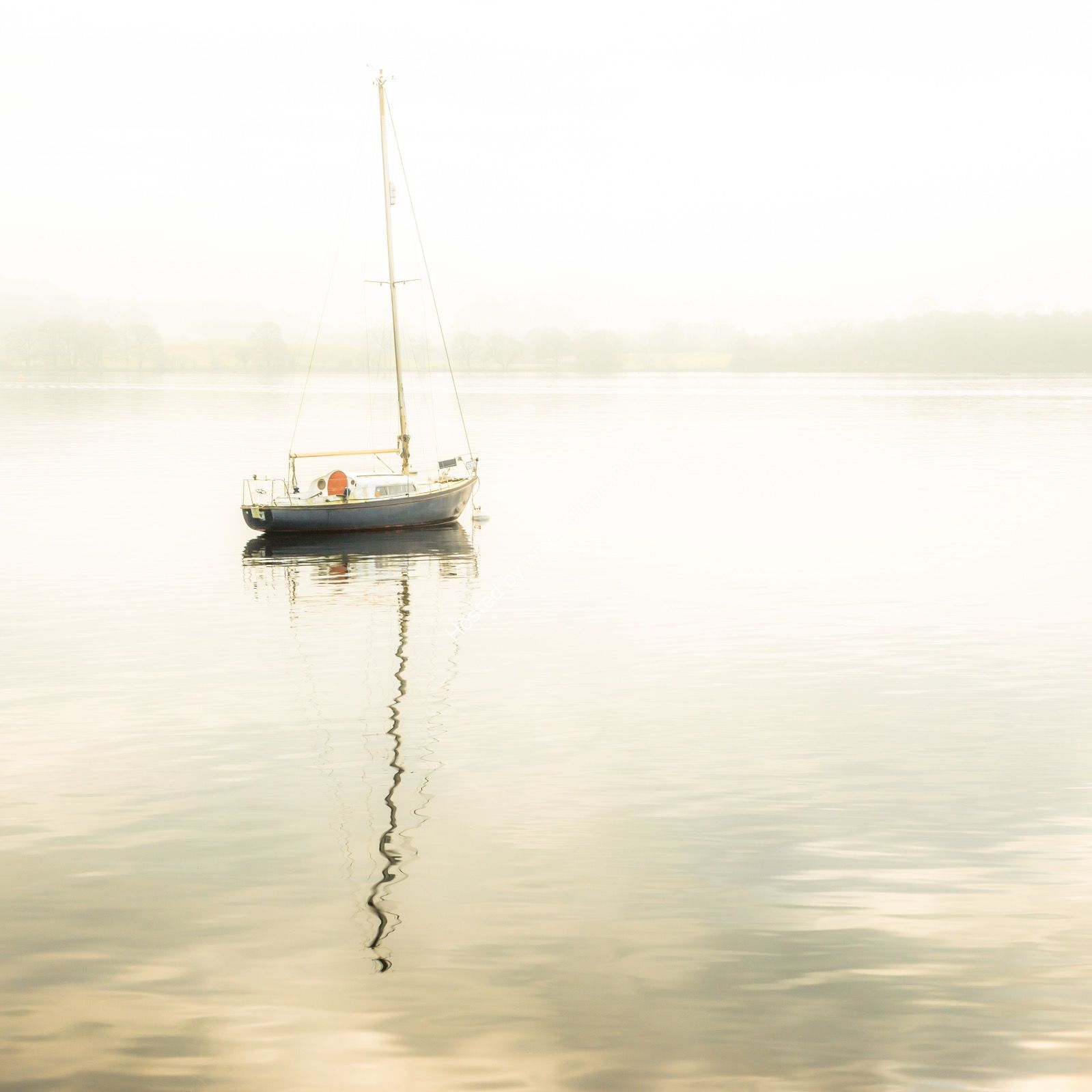 Lone Boat Windermere
