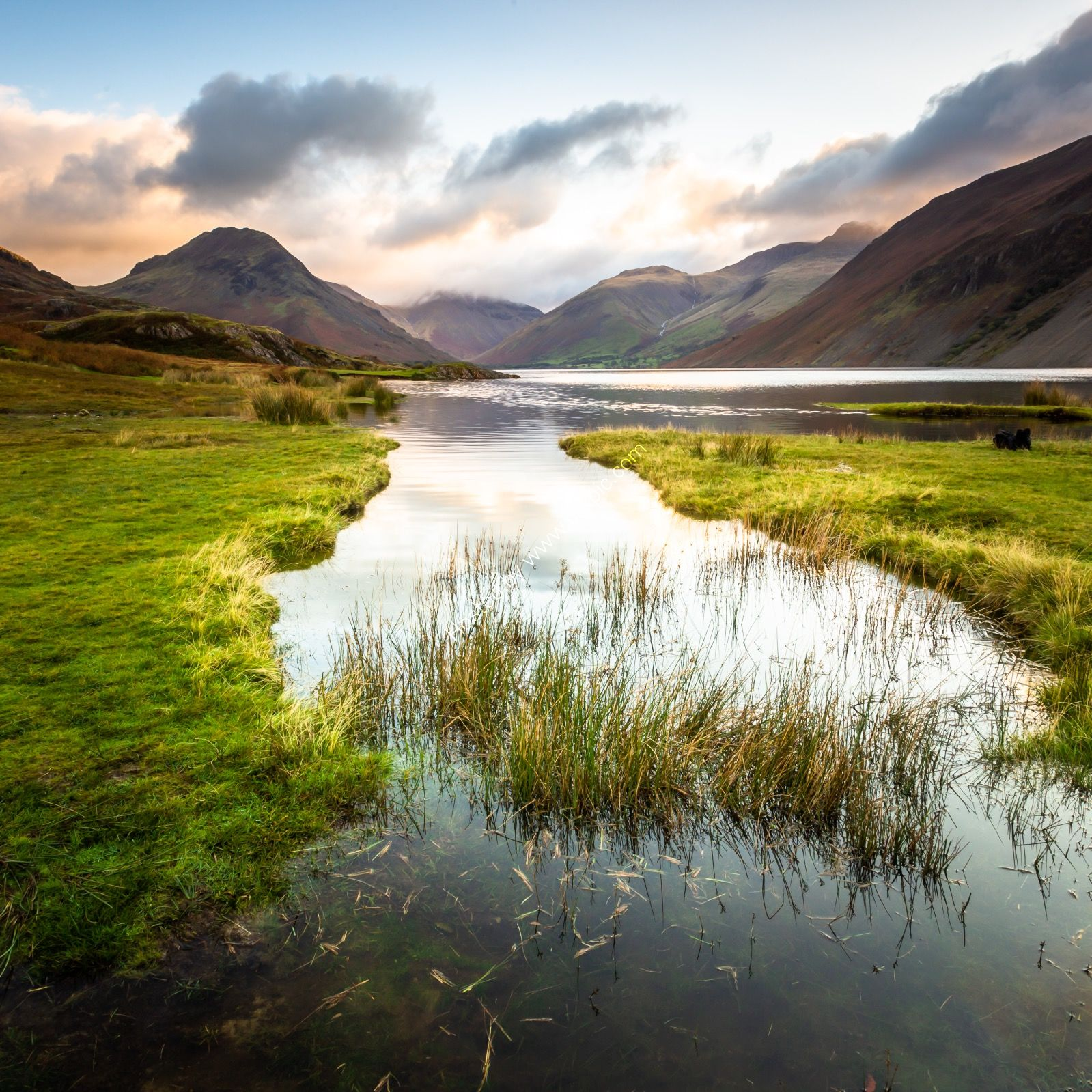 Wast Water at Sunrise Cumbria