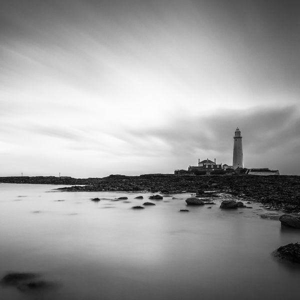 St.Mary's Lighthouse at Dawn